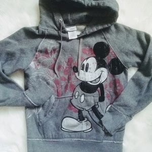 Mickey mouse,Disney parks resorts,gray hoody